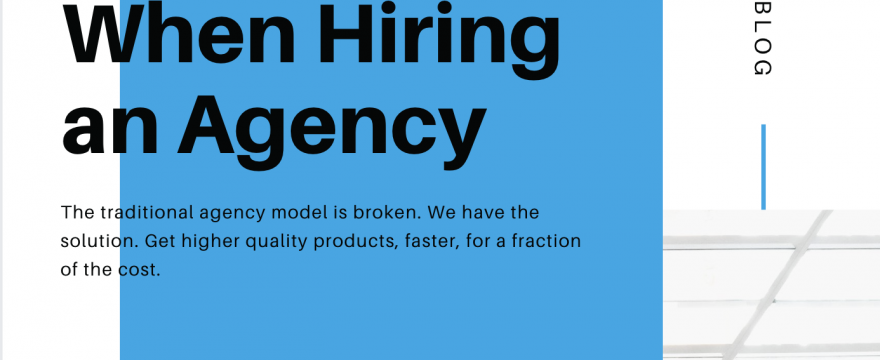 Avoid these mistakes when hiring a Software Agency